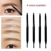 Buy cheap Double Ended 2 In 1 Eyebrow Pencil With Brush , Long Lasting Brow Pencil from wholesalers