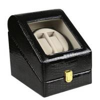 Buy cheap TOP QUALITY LEATHER AUTOMATIC DOUBLE WATCH WINDER BOX-PI-eYu from wholesalers