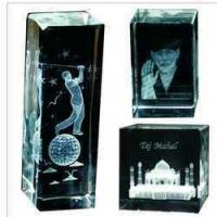 Buy cheap Engraved Crystal Trophy from wholesalers