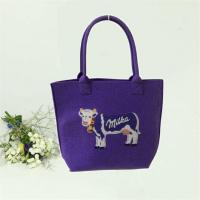 Buy cheap Fashion DIY Felt Tote Bag Is A Gift Bag and Matches Shopping Very Much from wholesalers