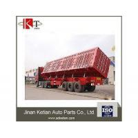 Buy cheap End Side Dump Semi Trailer Truck from wholesalers