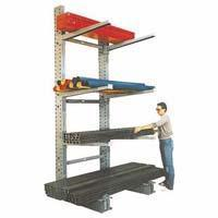Buy cheap Cantilever Rack Series 3000 Heavy Duty Cantilever Rack - Single Sided Uprights from wholesalers