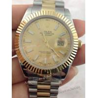 Buy cheap Copy Rolex Datejust II Two Tone Gold Dial/Gold Bezel Timepiece from wholesalers