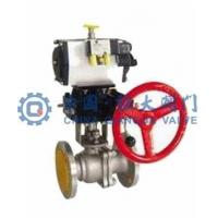 Buy cheap O type pneumatic shut-off valve | pneumatic shut-off valve from wholesalers