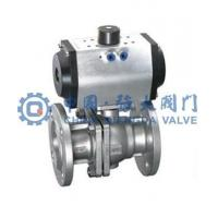 Buy cheap Stainless steel pneumatic ball valve from wholesalers