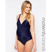 Buy cheap Lingerie Mamalicious Maternity Swimming Costume - Navy Padded Cups from wholesalers