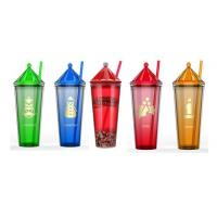 Buy cheap TM1723 Straw Tumbler with christmas lid from wholesalers