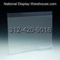 Buy cheap AHSW-1185CS55CGP - 11x8.5 Combo Wall Mount Sign Holder with Business Card Pocket from wholesalers