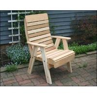 Buy cheap Red Cedar Royal Highback Patio Chair from wholesalers