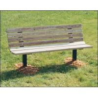 Buy cheap Single Sided Inground Park Bench from wholesalers