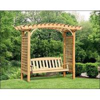 Buy cheap Treated Pine Greenfield Arbor and Swing Set from wholesalers