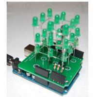 Buy cheap 3x3x3 LED Cube Arduino Shield - Green from wholesalers