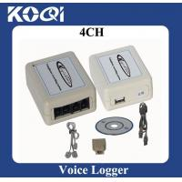 Buy cheap 4 channels telephone recorder from wholesalers
