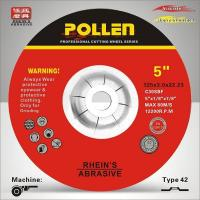 Buy cheap 125mm 3mm Depressed Center Abrasive Wheels,Stone Mansonry Cuttting and Grinding Wheels C30S from wholesalers