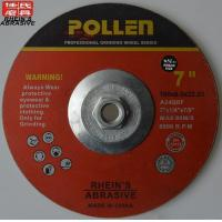 Buy cheap 7Inch X 1/4Inch X7/8Inch Abrasive Wheels Angle Grinder Metal Grinding Wheel Material from wholesalers