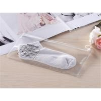 Buy cheap PVC Sock Packaging Bag With Ziplock from wholesalers