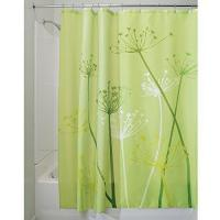 Buy cheap InterDesign Thistle Shower Curtain,72 x 72-Inch,Green-Shower Curtains from wholesalers