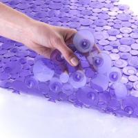 Buy cheap SlipX Solutions Sea of Circles Bath Mat - Purple-Bathtub Mats product
