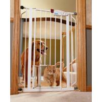 Buy cheap Carlson 0941PW Extra-Tall Walk-Through Gate with Pet Door,White-Doors from wholesalers