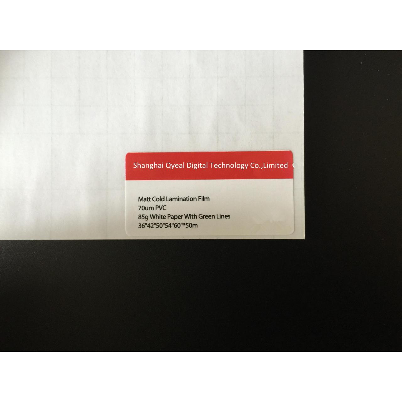 Buy cheap Matte Cold Lamination Film with base paper from wholesalers
