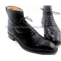 Buy cheap CIEB42 - Business Formal Size Ankle Men Boots In Goodyear Craft from wholesalers