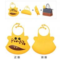 Buy cheap Colorful Waterproof Baby Bibs/silicon Bibs With Pocket product