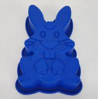 Buy cheap Food Grade Silicone Rabbit Shape Cake Silicone Mold from wholesalers