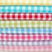 Buy cheap 2017 Summer polyester cotton blend tc printed yarn dyed check fabric for dress from wholesalers