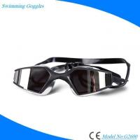 Buy cheap Fashionable Onepiece No-scratching Waterproof Transparent Swimming Glasses with Antifog Lens from wholesalers