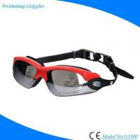 Buy cheap Stylish Waterproof Swimming Glasses for Adults with Antifog Mirrored Lens Wide Vision from wholesalers