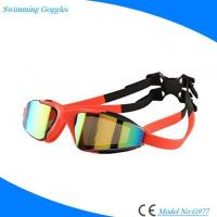 Buy cheap Colorful Manufacture OEM Silicone Swimming Goggles with Antifog Anti-UV Lens from wholesalers