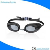 Buy cheap Colorful Mirrored Lens Antifog 100% UV Protection Waterproof Swimming Goggles for Adults from wholesalers