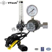Buy cheap W-201T dual-stage carbon General industrial CO2,MAG gas regulator series from wholesalers