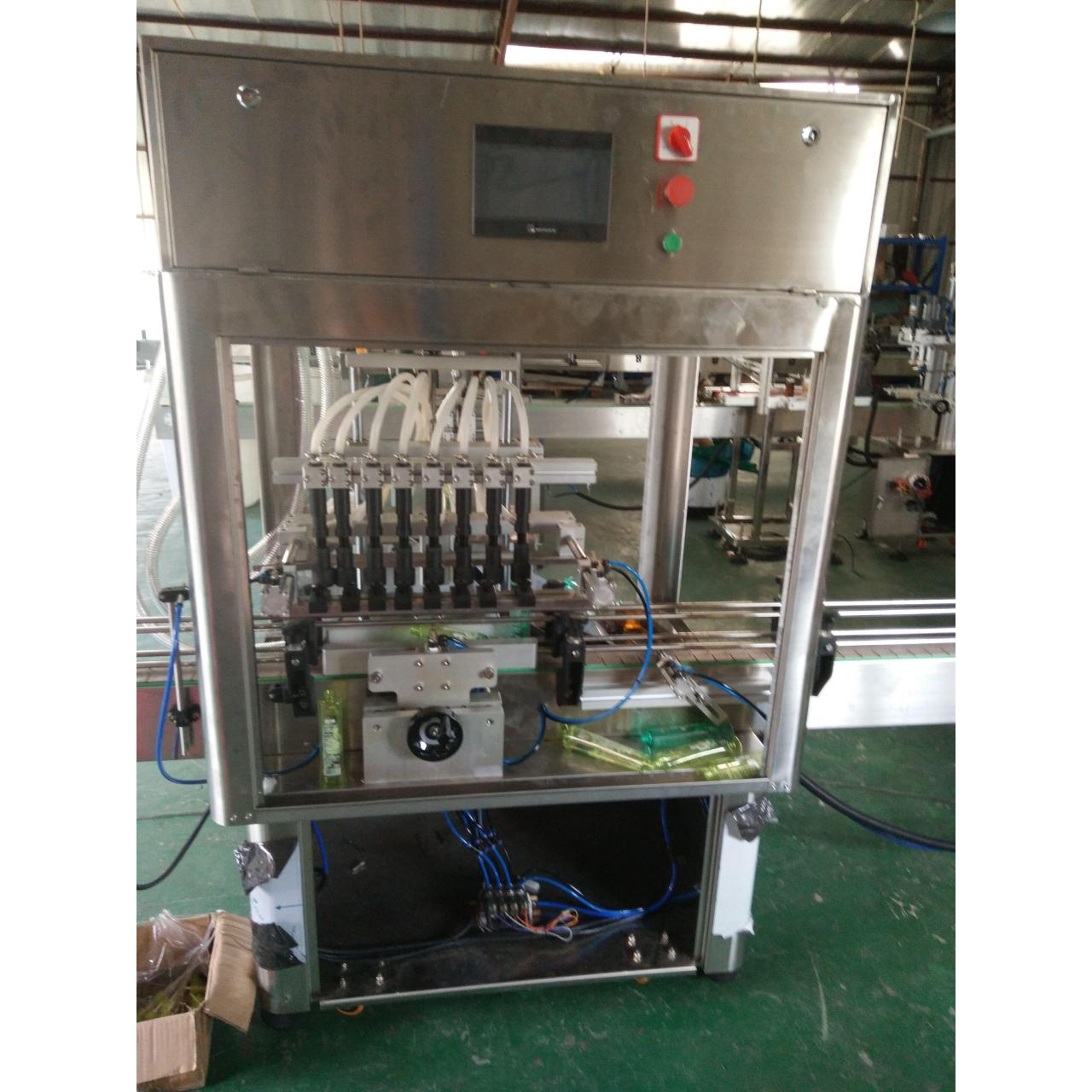 Low vacuum filling machine