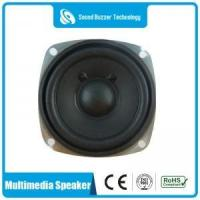 Buy cheap Audio speaker Full range multimedia speaker paper cone 78*78mm 4ohm 5 watt from wholesalers