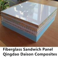 Buy cheap Flat Smooth FRP Sheet DS Sandwich Panel from wholesalers
