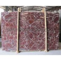 Buy cheap Rosso Lepanto Marble Slab Photo Gallery from wholesalers