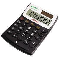Buy cheap Aurora Black/White 12-Digit Semi-Desk Calculator EC404 from wholesalers