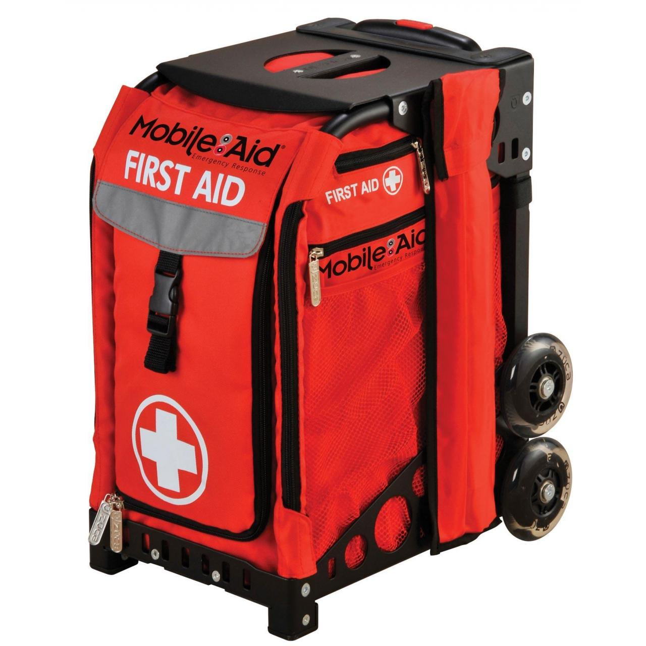 MobileAid Easy-Roll Sports First Aid Station 31550