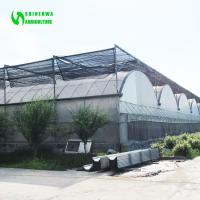 Buy cheap Commercial Plastic Film Greenhouse With Shading System from wholesalers