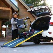 Buy cheap Wheelchair Aluminum Ramps Suitcase Singlefold GF (Graphite Fiber) Ramp from wholesalers