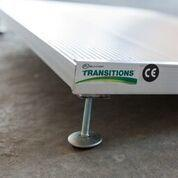 Buy cheap Wheelchair Aluminum Ramps Transitions Angled Entry Ramp from wholesalers