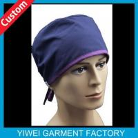 Buy cheap 100% Cotton Unisex Custom Scrubs Hats from wholesalers
