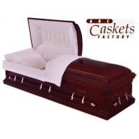 Buy cheap Solid Wood Caskets Traditional Maple from wholesalers