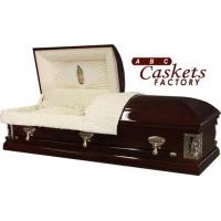 Buy cheap Solid Wood Caskets Our Lady of Guadalupe Pine from wholesalers