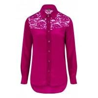 Buy cheap CLASSIC SILK SHIRT BERRY PINK from wholesalers