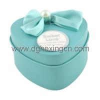 Buy cheap Wedding decoration heart shaped sugar tin can from wholesalers