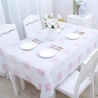Buy cheap white pattern vivid grace water proof printed tablecloth from wholesalers