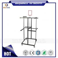 Buy cheap Heavy Duty Wardrobe Hanging Rail Rack for Clothes Use in Retail Store with White Color from wholesalers