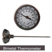 Buy cheap Temperature Instruments Bimetallic Thermometer Bi-metal Thermometer from wholesalers